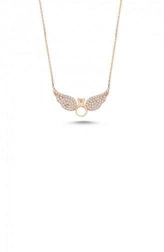 Rose Skin Necklace 0013-1632 - Kopya