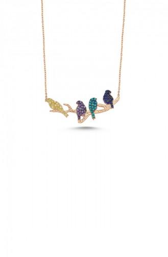 Rose Tan Necklace 003-1588 - Kopya