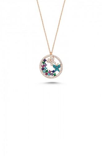 Rose Skin Necklace 006-1600