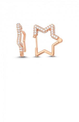 حلقة الأذن زهري البشرة 005-2971