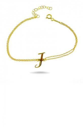 Goldfarbig Armband 008-3249