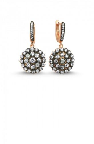Rose Tan Earrings 000104