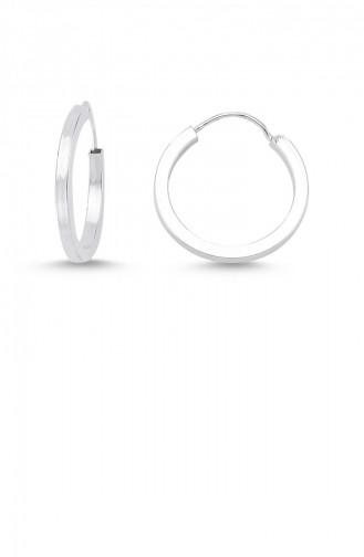 Silver Gray Earring 0003
