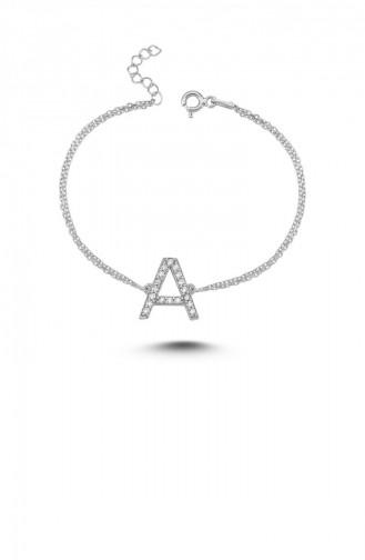 Silver Gray Bracelet 00126-2807