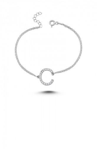 Silver Gray Bracelet 00126-2809