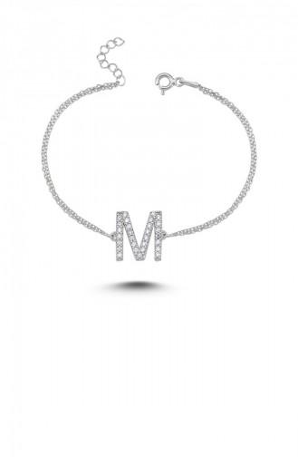Silbergrau Armband 00126-2821