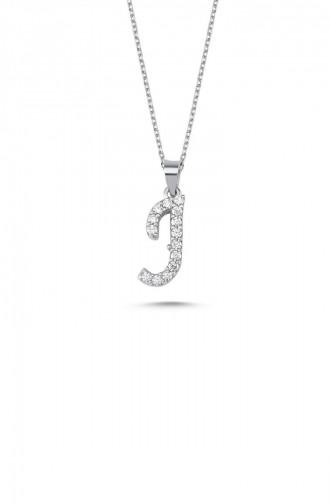 Silbergrau Kette 00136-3308