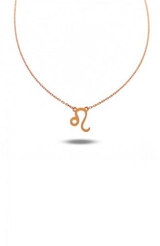 Rose Tan Necklace 001-3519