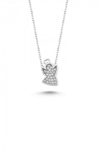 Silver Gray Necklace 12399-383