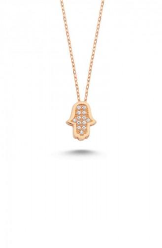 Rose Tan Necklace 13594-393