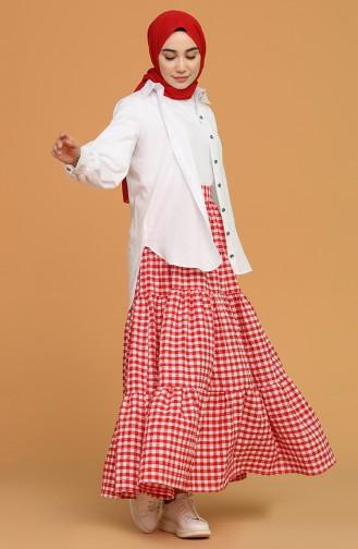 Red Skirt 1636-06