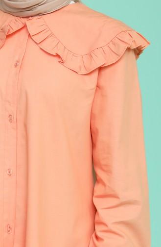 Light Tile Overhemdblouse 5549-05