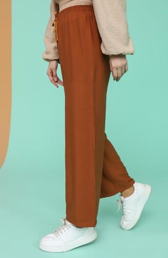 Pantalon Couleur brique 4435-01