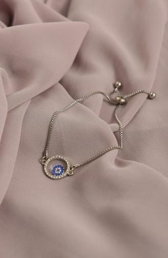 Bracelet Gris argenté 009-01