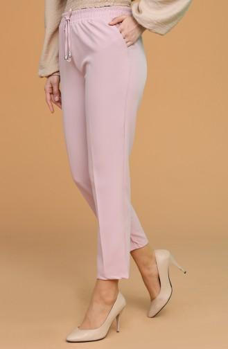 Pantalon Rose Pâle 0941-07