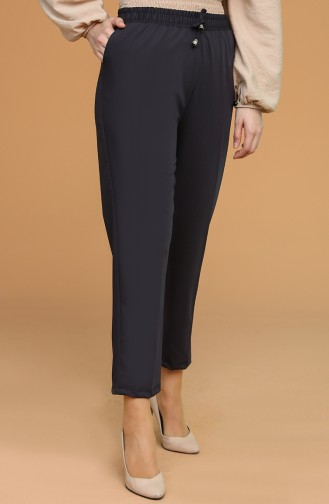 Pantalon Bleu Marine Foncé 0941-08