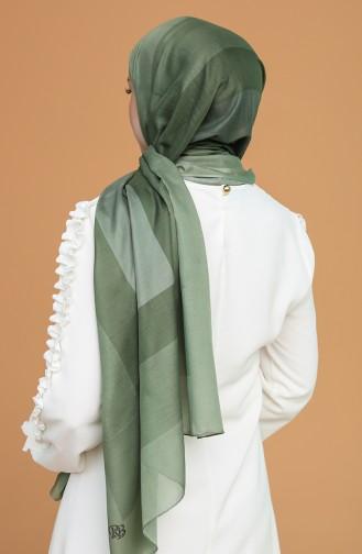 Châle Vert Millitaire 95262-12