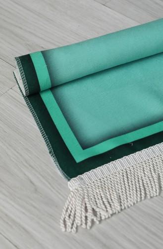 Green Praying Carpet 0054-01