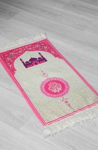 Tapis de Prière Rose 0055-01