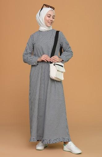 Robe Hijab Bleu Marine 5009-02