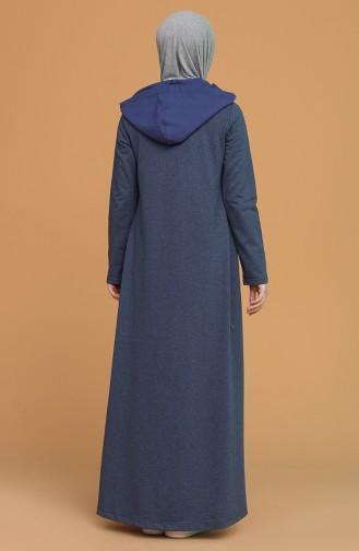 Robe Hijab Indigo 3281-02