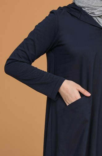 Robe Hijab Bleu Marine 3281-01
