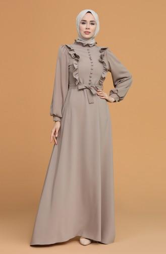 Habillé Hijab Vison 4873-01