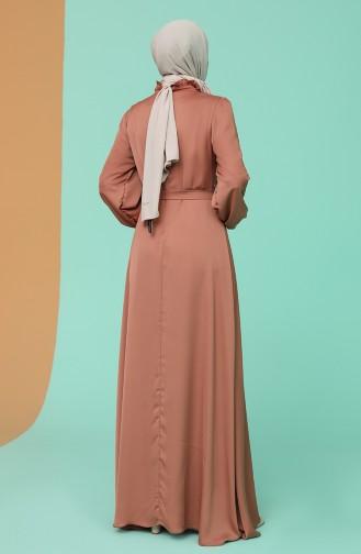 Habillé Hijab Pelure d`oignon 4873-03