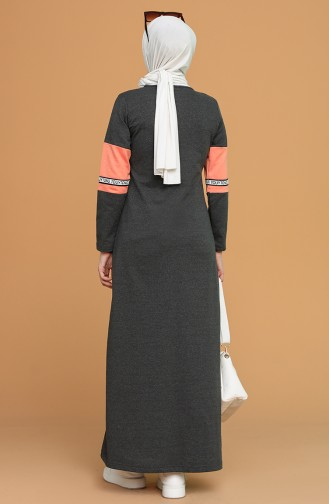 Robe Hijab Antracite 50102-03