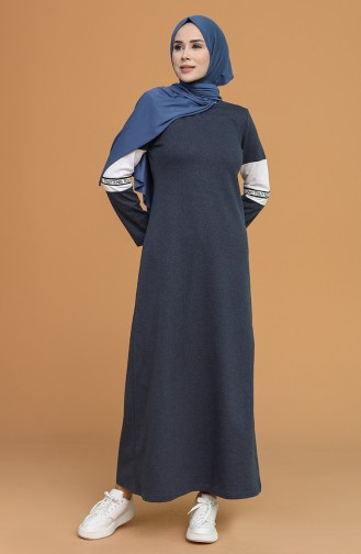Robe Hijab Indigo 50102-04