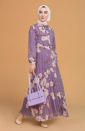 فستان ليلكي 6356-01