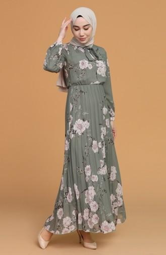 فستان كاكي 6356-05