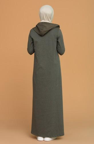 Robe Hijab Khaki 3281-06