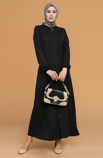 Black Abaya 1011-01