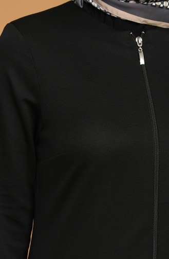 Black Abaya 1012-06