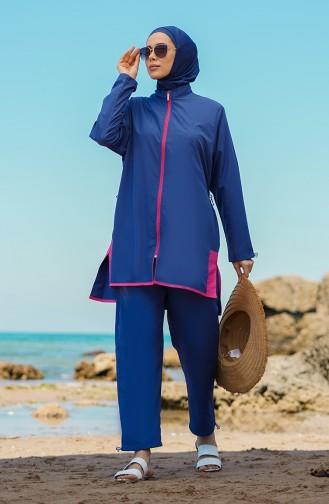 Indigo Hijab Badeanzug 21225-01