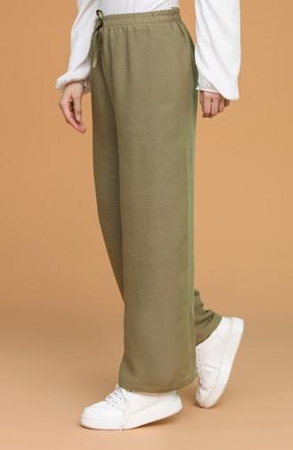 Pantalon Vert 4445-12