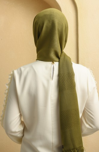 شال أخضر جيشي 90129-17