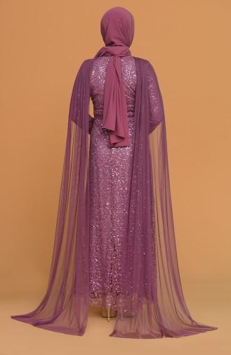 Dunkel-Rose Hijab-Abendkleider 202018-09