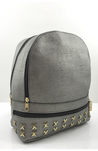 Silver Gray Back Pack 1094-04