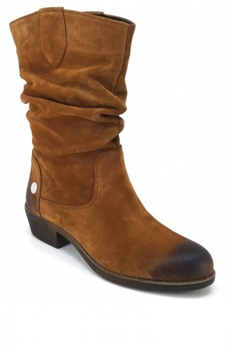 Tan Boots-booties 5131