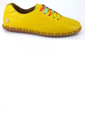 2902 Messimod Günlük Bayan Ayakkabı-Sarı