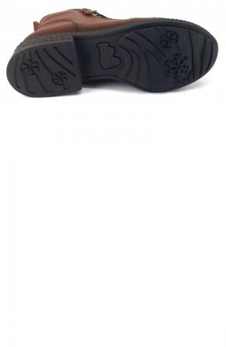 Tan Boots-booties 7097