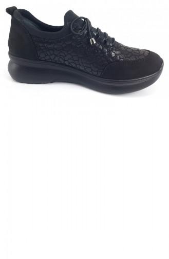 Chaussures de jour Noir 7257