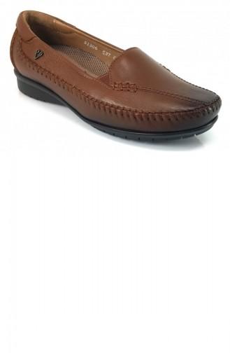Chaussures de jour Tabac 8095