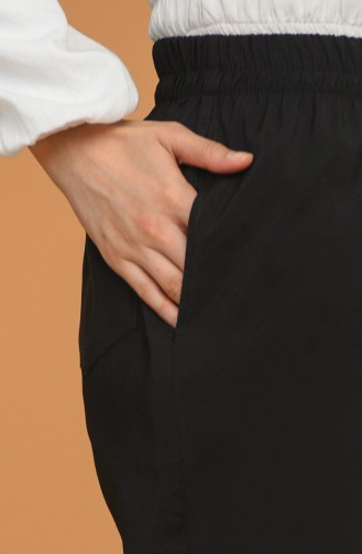 Beli Lastikli Jogger Pantolon 0192-01 Siyah