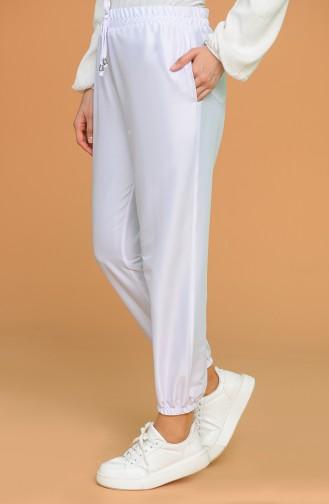 Pantalon Blanc 0192-08