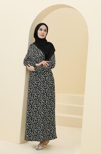 Robe Hijab Noir 8899-01