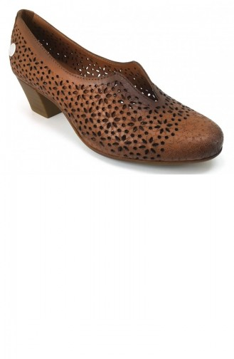 Chaussures a Talons Tabac 6187