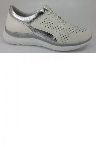 Chaussures de jour Blanc 7567